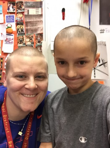 Teacher Lets Student Shave Her Head