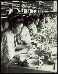 Female Silk Factory Workers: A Sad History
