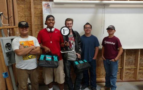 GHHS Woodshop Wins Top Honors at Competition!