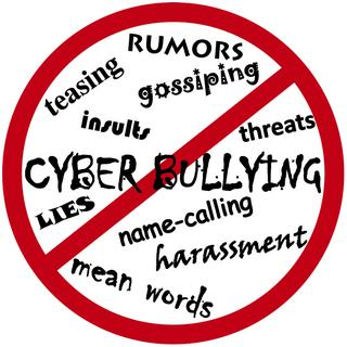 All of these words are bullying. Help stop bullying at GHHS and in our town!