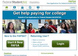 If you go to the correct page, at www.fafsa.gov, it will look like this!