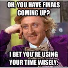 Final Exams Are in the Near Future!