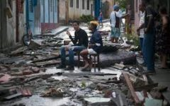 Hurricane Irma Hits the Nation of Cuba