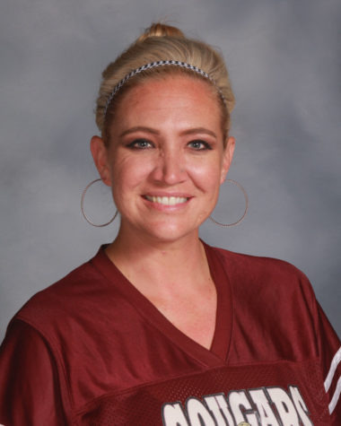 Ms. Hunt leads our medical careers program at GHHS, and she also is the coach for our cheerleading teams.